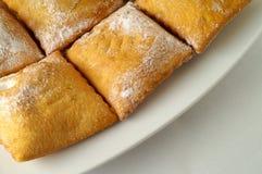 Pâtisserie remplie Photo libre de droits