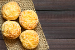 Pâtisserie savoureuse de Pogacsa de Hongrois photographie stock