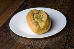 Pâtisserie savoureuse et douce sur une table en bois Photos stock