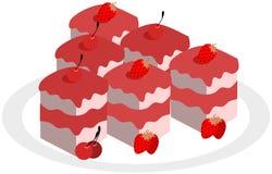 Pâtisseries illustration stock