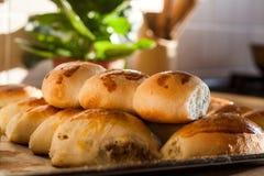 Pâtisseries bourrées photographie stock libre de droits