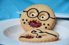 Pâtisseries comiques Image stock