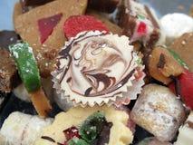 Pâtisseries délicieuses Photos stock