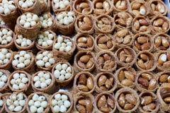 Pâtisseries d'écrou Image libre de droits