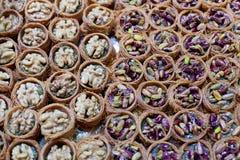 Pâtisseries d'écrou Photo libre de droits