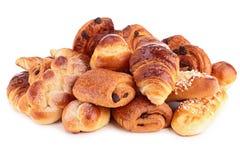 Pâtisseries d'isolement Images stock