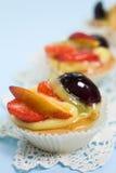 Pâtisseries de fruit Images stock