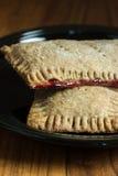 Pâtisseries de grille-pain de blé entier images stock