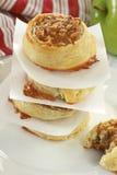 Pâtisseries de noix de pécan d'Apple Photos stock