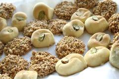 Pâtisseries douces arabes Image stock