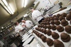 Pâtisseries et chefs Image libre de droits