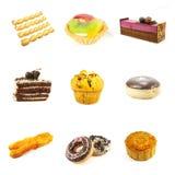 Pâtisseries et gâteaux Image stock