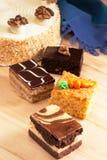 Pâtisseries et gâteaux Images stock
