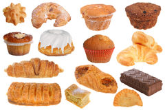 Pâtisseries et gâteaux délicieux photo libre de droits