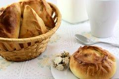 Pâtisseries fraîches chaudes Image libre de droits