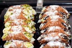 Pâtisseries italiennes Photographie stock libre de droits