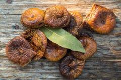 Pâtisseries sèches de figues Image stock