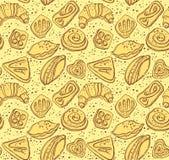 Pâtisseries savoureuses illustration libre de droits