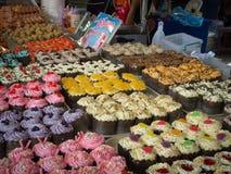Pâtisseries thaïes délicieuses Photographie stock libre de droits