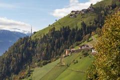 Pâturage alpin Image libre de droits