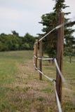 Pâturage clôturé Image stock
