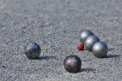 Pétanque / Boule / Boccia Stock Photo