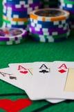 Póker Royalty Free Stock Photos