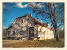 Pöhajka Estland老大厦餐馆 库存图片