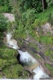 Pöllat flod under den Marienbrà ¼cken Royaltyfri Fotografi