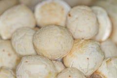 Pão de queijo - pain de fromage Photographie stock libre de droits