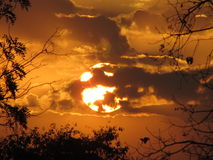 PÃ'r делает Sol стоковое фото rf
