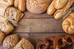 pães imagem de stock