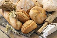 pães fotografia de stock