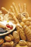 Pães cozidos frescos Foto de Stock