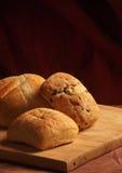 3 pães do ciabatta Imagem de Stock Royalty Free