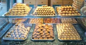 Pães e bolos da padaria Fotos de Stock Royalty Free