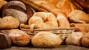 Pães e produtos de forno Imagem de Stock