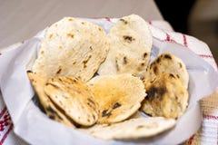 Pão ázimo fresco Fotografia de Stock