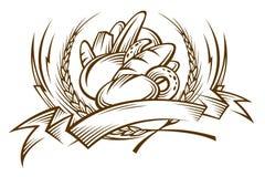 Pão ilustração royalty free