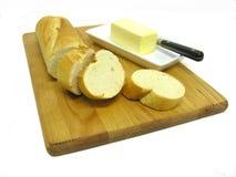 Pão & manteiga imagens de stock