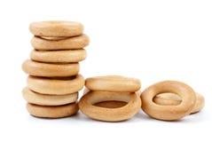Pão-anéis Foto de Stock