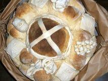 Pão, artístico decorado Imagem de Stock Royalty Free