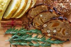 Pão assorted Foto de Stock Royalty Free