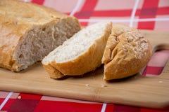 Pão branco Fotografia de Stock