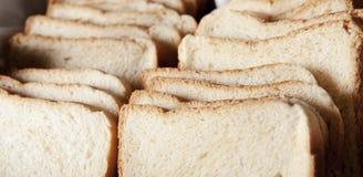 Pão branco Fotos de Stock Royalty Free