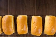Pão branco Imagens de Stock Royalty Free