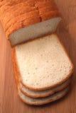 Pão branco Fotos de Stock