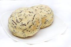 Pão branco delicioso Foto de Stock