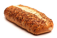 Pão branco do artesão italiano fotografia de stock royalty free