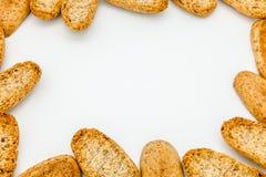 Pão brindado Imagens de Stock Royalty Free